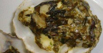 Huîtres chaudes au Wakamé