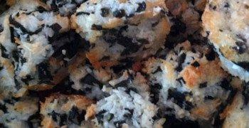 Rocher noix de coco à la laitue de mer