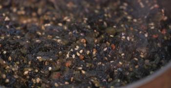 Le chutney d'algues