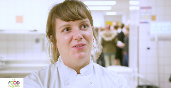 Les jeunes cuisiniers et leurs professeurs sont tous fous d'algues!